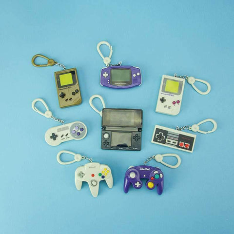 Nintendo Console Backpack Buddies-The Nerdy Byrd