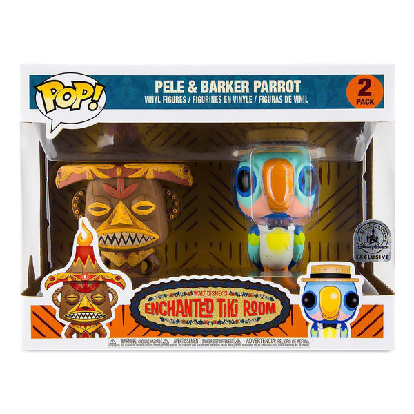 Pele & Barker Parrot Disney Parks Exclusive Funko Pop! Vinyl-The Nerdy Byrd