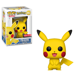 Pikachu Pokemon Target Exclusive Funko Pop! Vinyl-The Nerdy Byrd