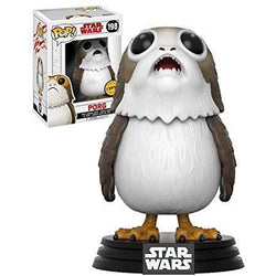 Porg (Chase) Star Wars Funko Pop! Vinyl-The Nerdy Byrd