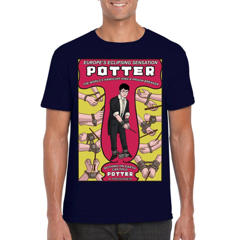 Potter-Houdini T-Shirt-The Nerdy Byrd