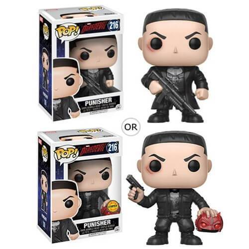 Punisher Daredevil Funko Pop! Vinyl-The Nerdy Byrd