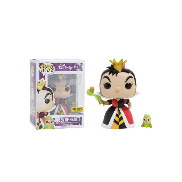 Queen of Hearts Alice in Wonderland Hot Topic Exclusive Funko Pop! Vinyl-The Nerdy Byrd
