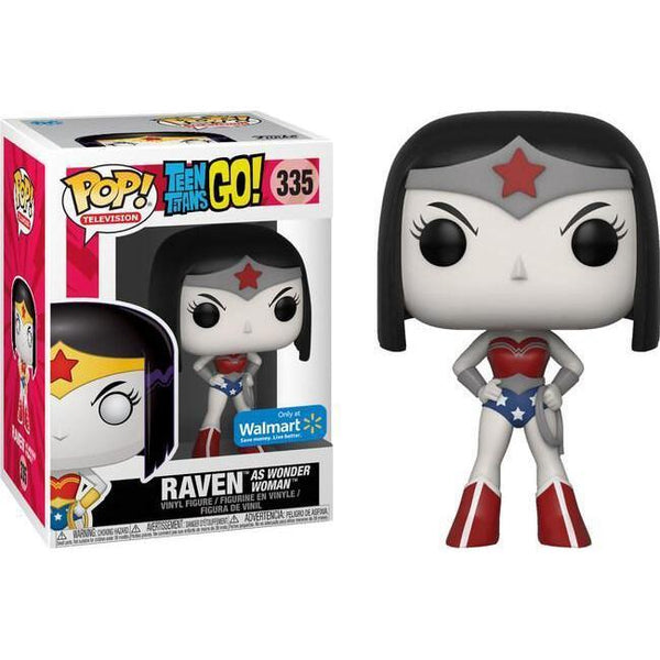 Raven (Wonder Woman) Teen Titans Go Walmart Exclusive Funko Pop! Vinyl-The Nerdy Byrd