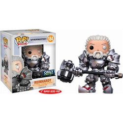 Reinhardt Unmasked Overwatch Best Buy Exclusive Funko Pop! Vinyl-The Nerdy Byrd