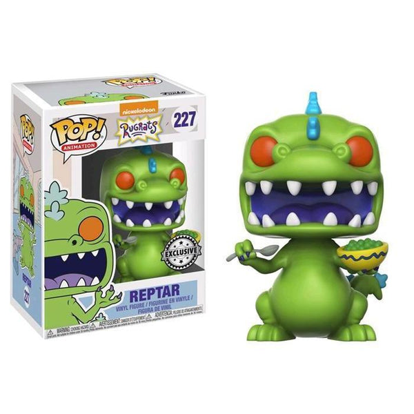 Reptar (Cereal Bowl) Rugrats Funko Pop! Vinyl Exclusive-The Nerdy Byrd