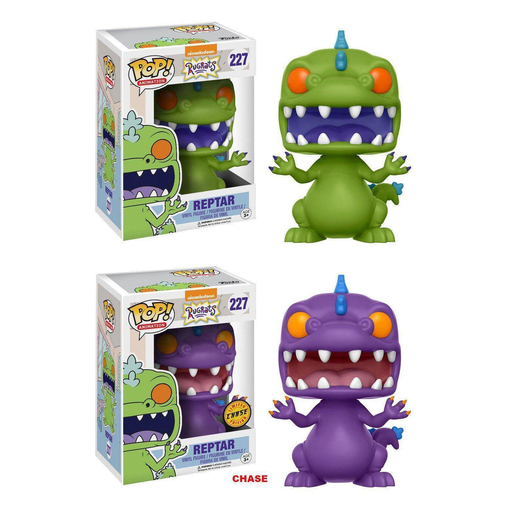 Reptar Rugrats POP! Vinyl Television-The Nerdy Byrd