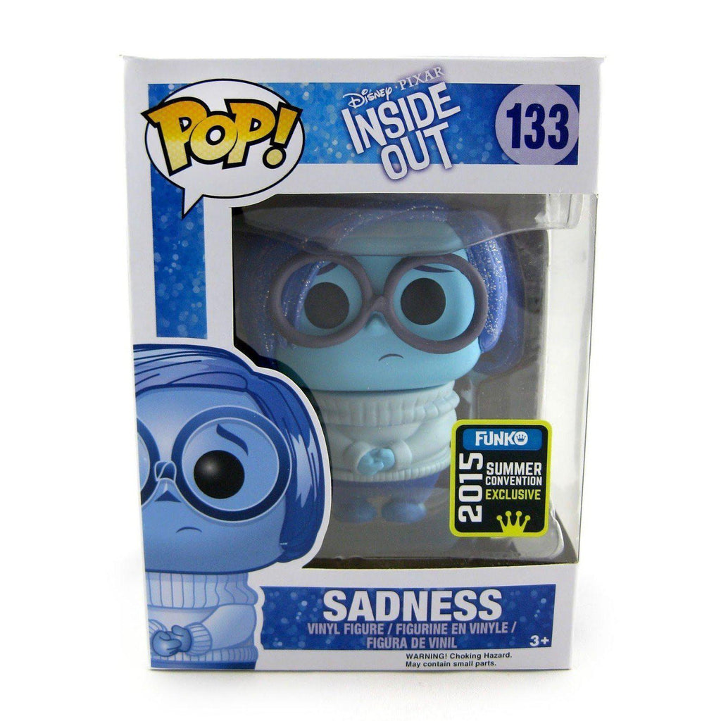 Sadness (Sparkle) Inside Out SDCC 2015 Exclusive Funko Pop! Vinyl-The Nerdy Byrd