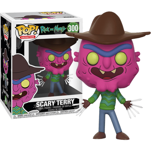 Scary Terry Rick and Morty Funko Pop! Vinyl-The Nerdy Byrd