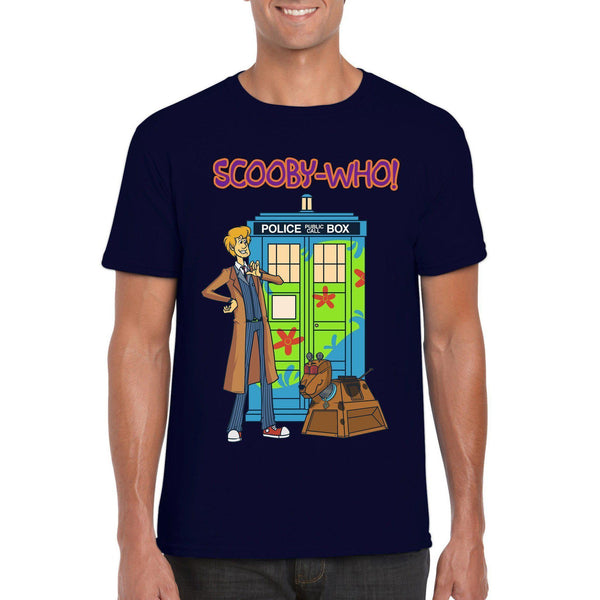 Scooby-Who T-Shirt-The Nerdy Byrd