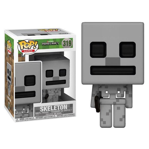 Skeleton Minecraft Funko Pop! Vinyl-The Nerdy Byrd