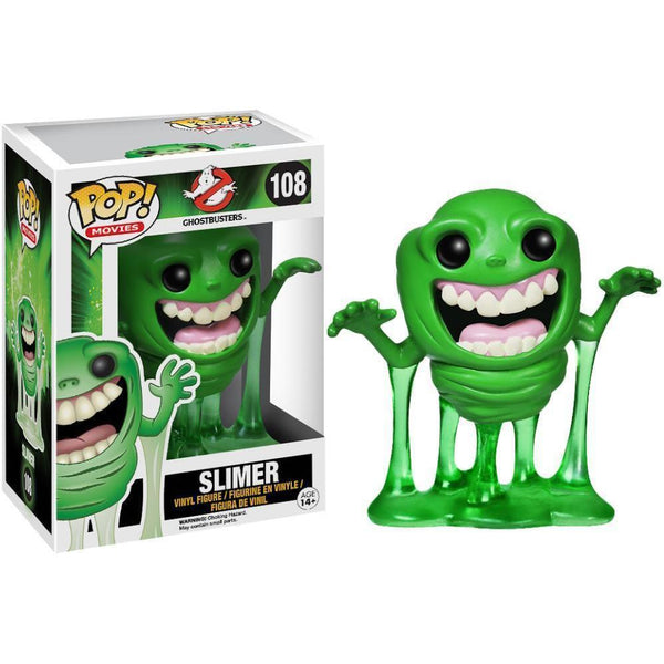 Slimer Ghostbusters Funko Pop! Vinyl-The Nerdy Byrd