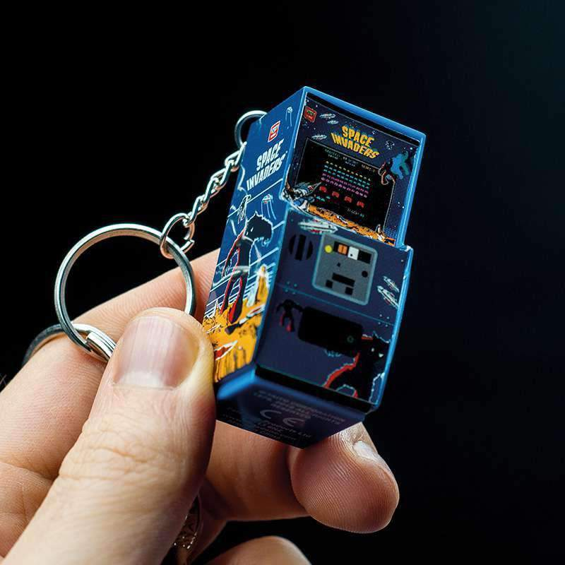 Space Invaders Arcade Keyring-The Nerdy Byrd