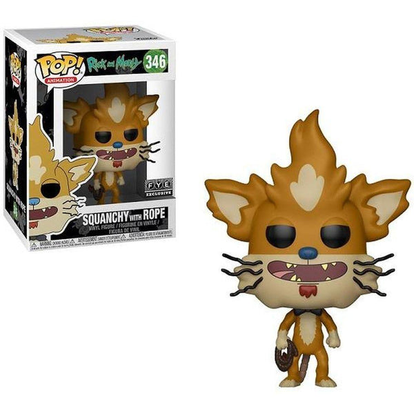 Squanchy with Rope Rick & Morty FYE Exclusive Funko Pop! Vinyl-The Nerdy Byrd