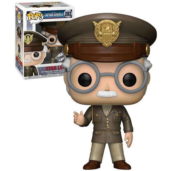 Stan Lee (General) Captain America First Avenger Exclusive Funko Pop! Vinyl-The Nerdy Byrd