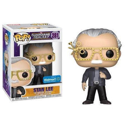 Stan Lee GOTG2 Futuristic Glasses Walmart Exclusive Funko Pop!-The Nerdy Byrd