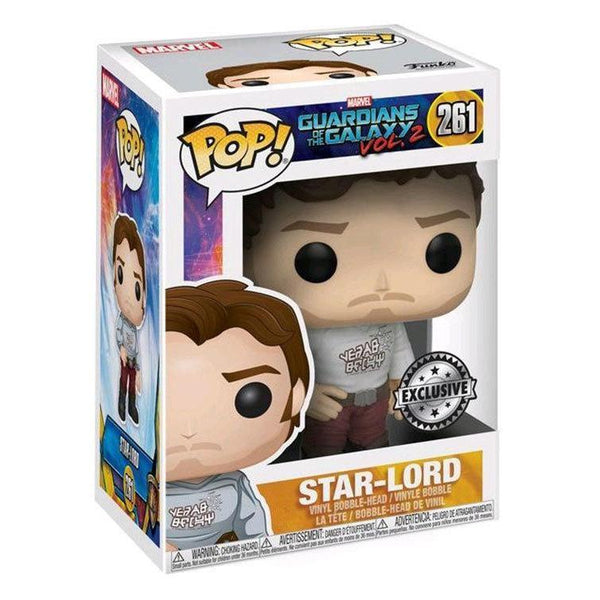 Star Lord (Gear Shift Shirt) Guardians of the Galaxy 2 Funko Pop! Vinyl Exclusive-The Nerdy Byrd
