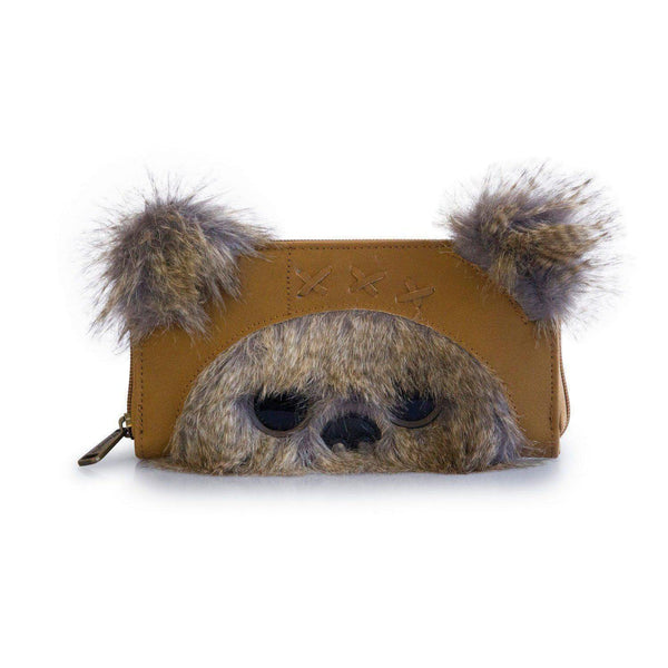 Star Wars 3D Ewok Loungefly Wallet-The Nerdy Byrd