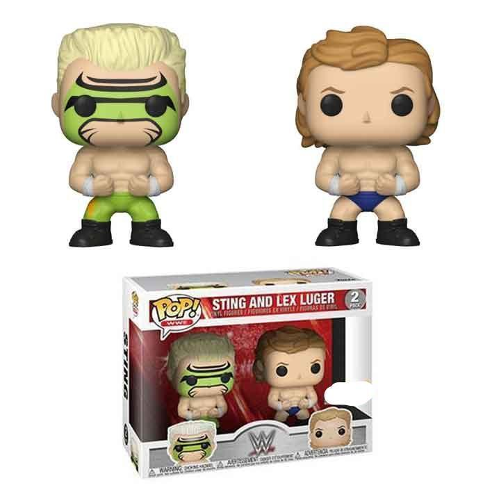 Sting and Lex Luger 2 Pack WWE Exclusive Funko Pop! Vinyl-The Nerdy Byrd