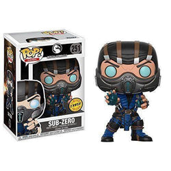 Sub-Zero (Chase) Mortal Kombat Funko Pop! Vinyl-The Nerdy Byrd