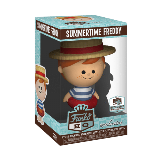 Summertime Freddy Funko HQ Exclusive Vinyl Figure-The Nerdy Byrd