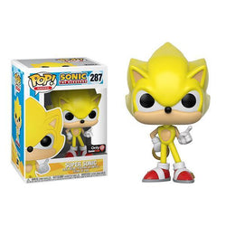 Super Sonic GameStop Exclusive Sonic the Hedgehog Funko Pop!-The Nerdy Byrd