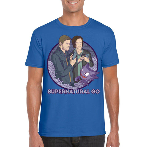 Supernatural GO T-Shirt-The Nerdy Byrd