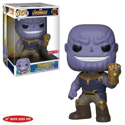 "Thanos 10"" Super Sized Avengers Infinity War Target Exclusive Funko Pop! Vinyl-The Nerdy Byrd"