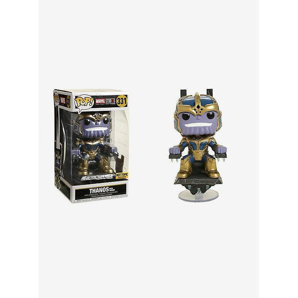 Thanos with Throne Marvel The First 10 Years Hot Topic Exclusive Funko Pop!-The Nerdy Byrd