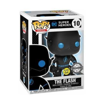 The Flash Silhouette Justice League DC GitD Exclusive Funko Pop Vinyl-The Nerdy Byrd