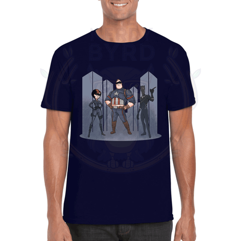The Incredible Avengers T-Shirt-The Nerdy Byrd