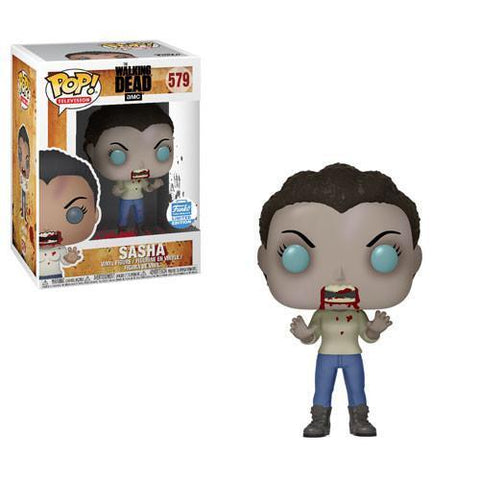 Zombie Sasha The Walking Dead Funko Shop Exclusive Pop! Vinyl-The Nerdy Byrd