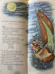 Wynken, Blynken and Nod Poem and image from the Tall Book of Make Believe