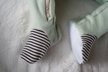 Organic Cotton Fleece Footed Sleeper