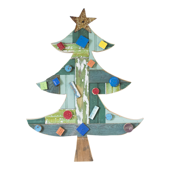 Whoville Folk Art Holiday Tree