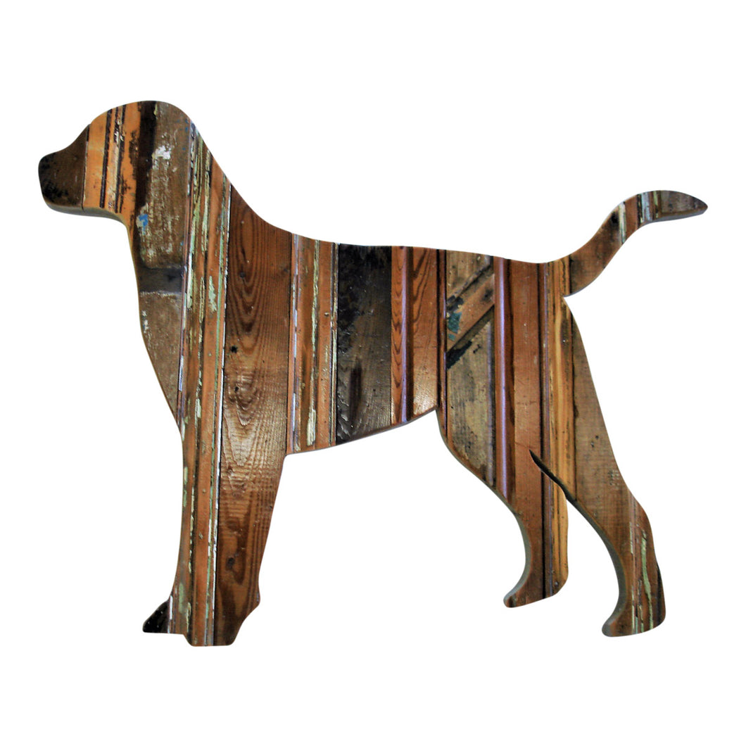 Reclaimed Wood Retriever