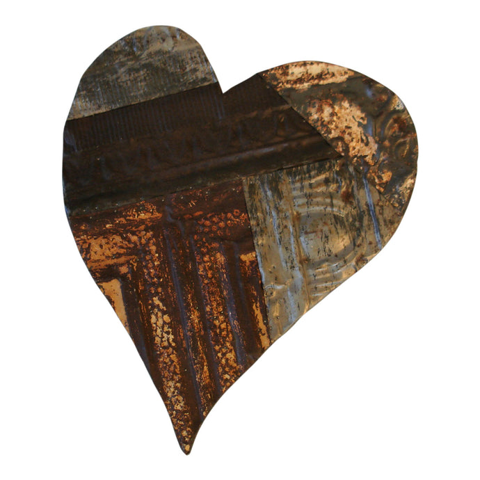 Antique Ceiling Tin Heart