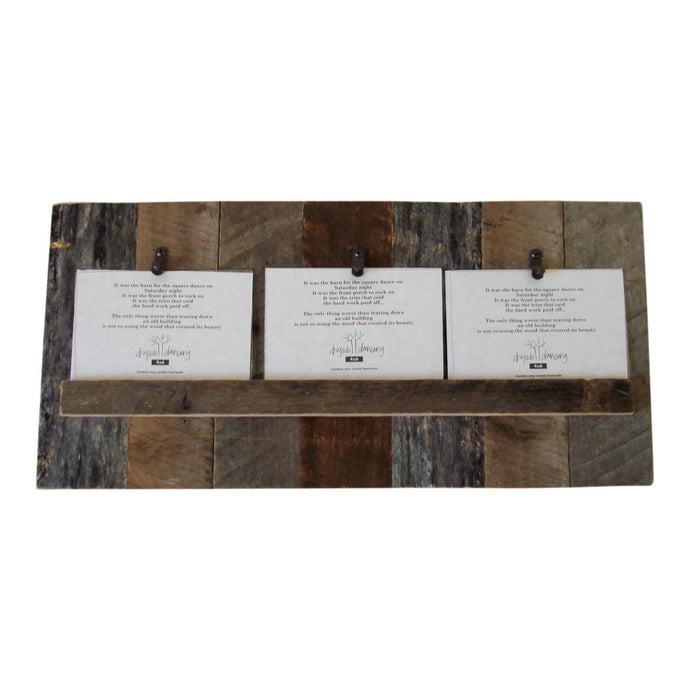 Reclaimed Wood Picture Frames & Rustic Tin Picture Frames | Dryads ...