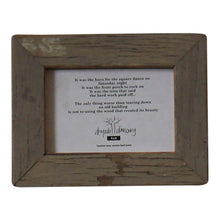 Skinny Recycled Wood Frames