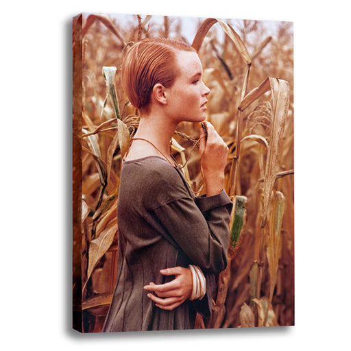 Girl in Corn Field 1988