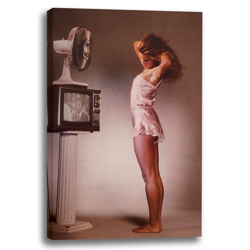 Girl and TV 1980