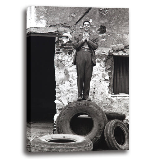 Man on a Tire 1987