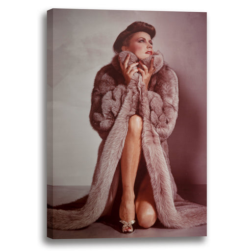 Woman in Fur 1978