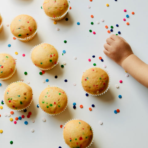 Naked Mini Cupcakes (3.8cm across top)