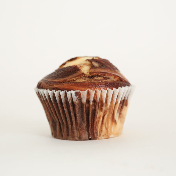 Naked Swirl Van/Choc Cupcakes 7cm (No 10 in sample box)