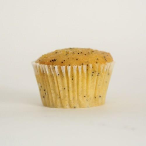 24 Naked Mini Orange & Poppyseed cupcake