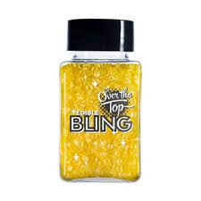 BLING GOLD SANDING SUGAR 80g