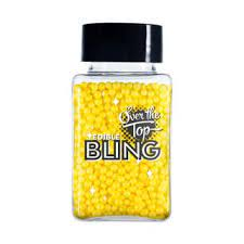 BLING SPRINKLES YELLOW 60g