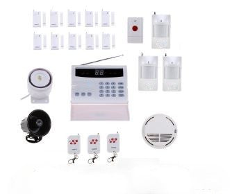 Landline or GSM Alarm Security System