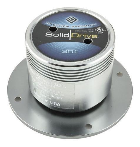 Soliddrive Sd-1 Drywall Surface Mount Actuator In Titanium - Rocketerías Distribuidores